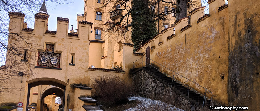 Visit Hohenschwangau Castle in Winter
