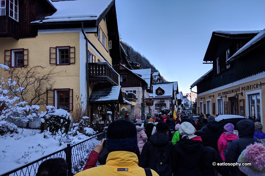 Hallstatt Tourists