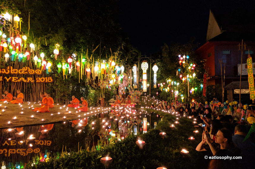 New Year's Eve Magic in Chiang Mai, Thailand