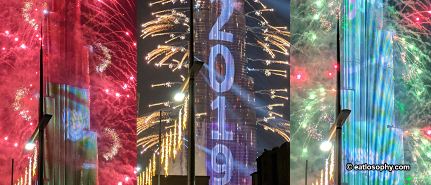 The Most Impressive Firework Display for New Year's Eve in Dubai