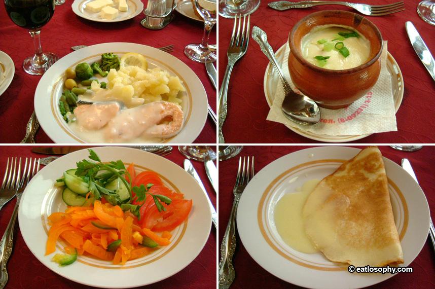 Dinner at Suzdal