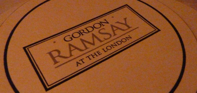 Gordon Ramsay At the London