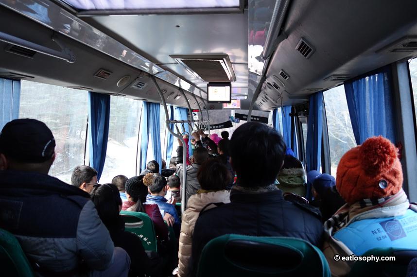shuttle bus in lijiang