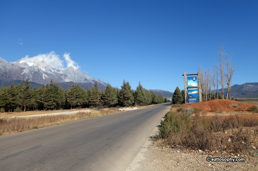 drive to mt yulong