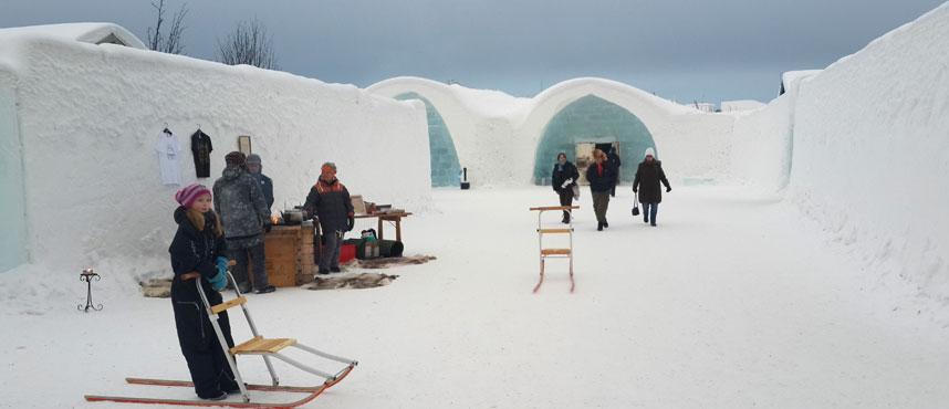 Jukkasjarvi - Ice Hotel