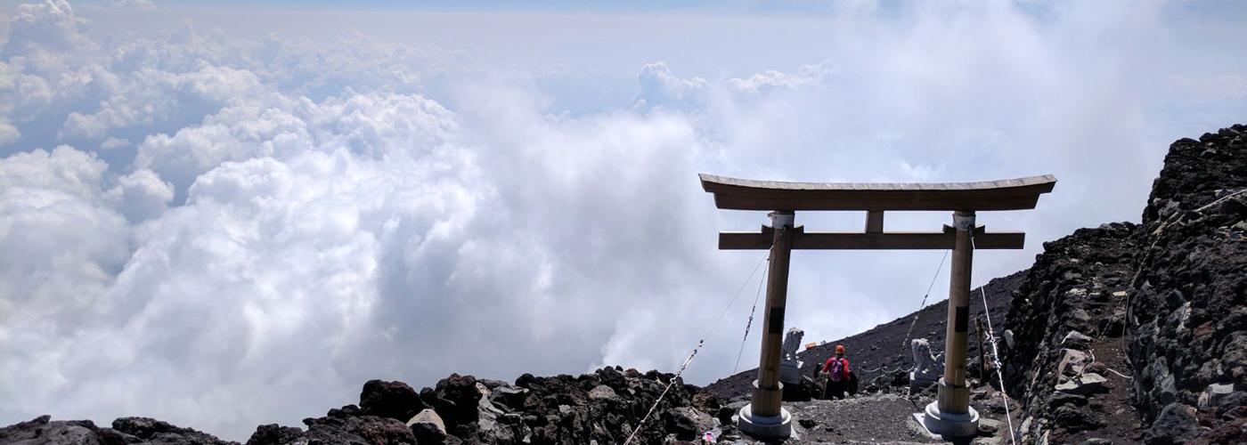 Above the Clouds with Mount Fuji